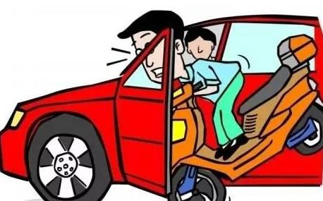 """乘客""""开车门""""造成交通事故应当承担何种责任"""