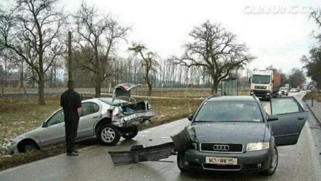 法院认定是交通事故,判决保险公司赔偿后车损失23万余元漏油致后车滑倒