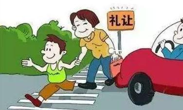 不礼让人行横道发生交通事故案例